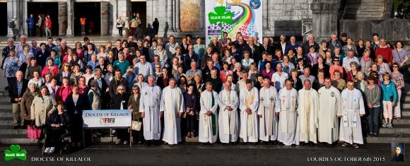 Killaloe Diocese Autumn Pilgrimage to Lourdes