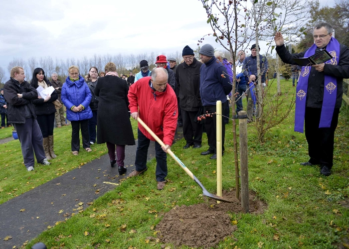 Planting the Tree of Hope 02-11-14