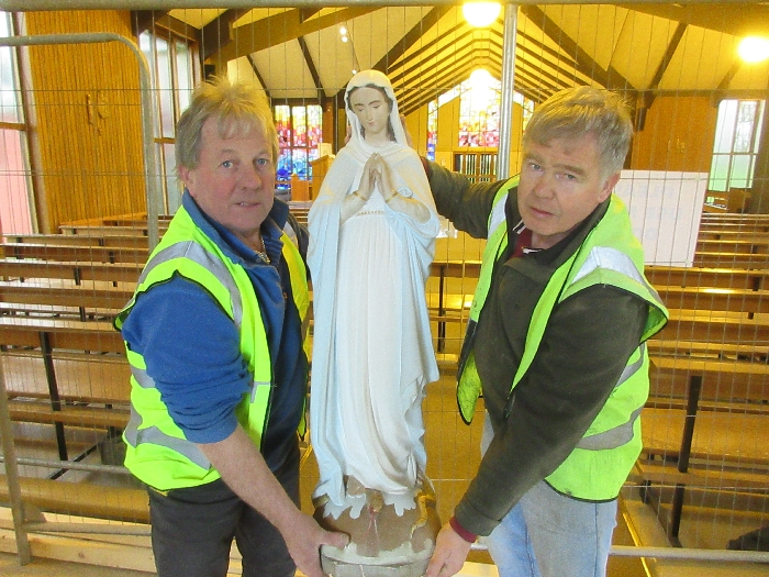 Improvements to Mary Immaculate Church 2018