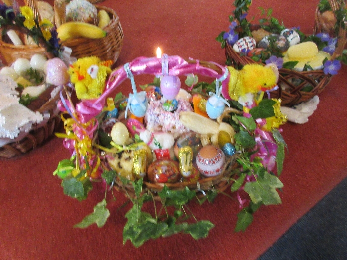 Blessing of Orthodox Easter Food 07-04-18