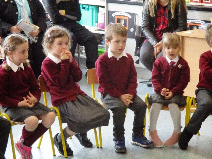 Blessing of St. Conaires Junior Infants 24-10-17