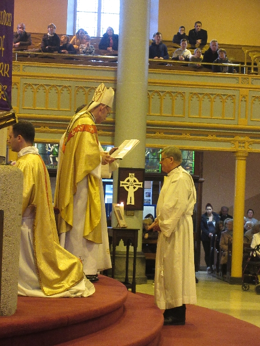 Ordination to the Diaconate of Martin Shanahan 26-11-17