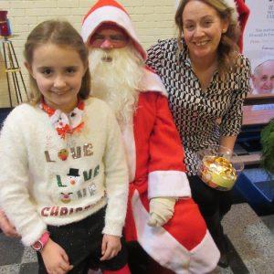 Santa Comes to Mass 17-12-17