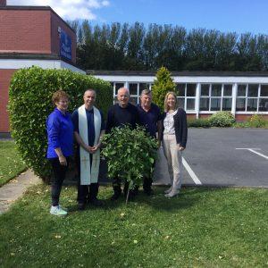 Tree Planting Ceremony at St Senan's