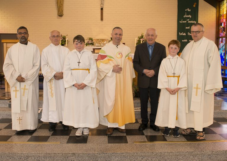 Mass of Thanksgiving for the Retirement of Mairtin McMahon