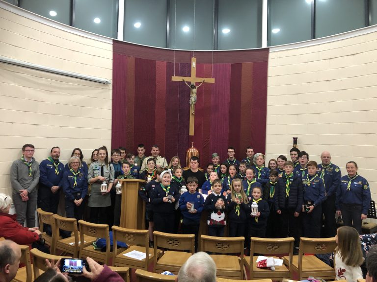 Shannon Scouts 'Light of Bethlehem'