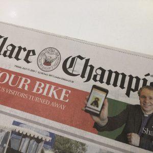 Shannon Parish App in the Clare Champion